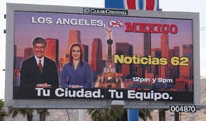 Billboard Mexifornia illegal immigration What You Think